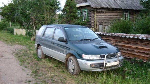 Mitsubishi Chariot 1996 - отзыв владельца