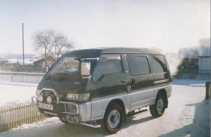 схема трансмиссии митсубиси делика1992