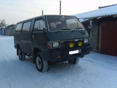 Mitsubishi Delica, 1986