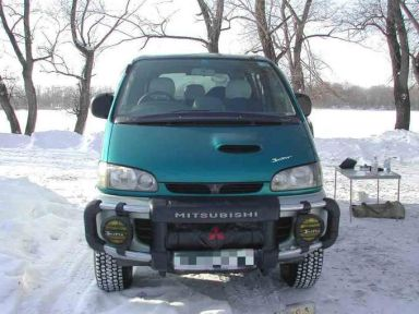 Mitsubishi Delica 1997 отзыв автора | Дата публикации 27.02.2004.