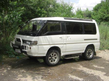 Mitsubishi Delica 1991 - отзыв владельца