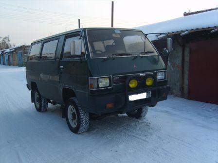 Mitsubishi Delica 1986 - отзыв владельца