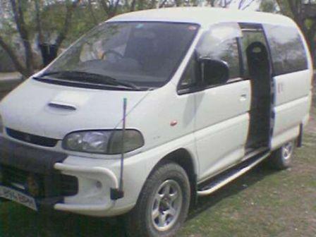 Mitsubishi Delica 1996 - отзыв владельца
