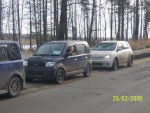Mitsubishi eK Wagon, 2002