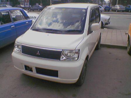 Mitsubishi eK Wagon 2001 - отзыв владельца