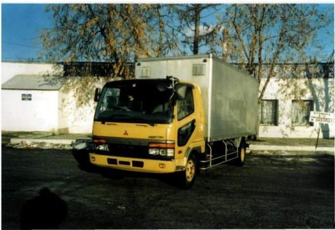Mitsubishi Fuso 1995 - отзыв владельца