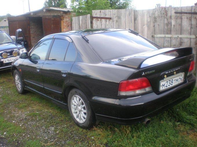 Мицубиси Галант 1996, 4G93 GDI 150л.с., тип кузова EA1A, Кемеровская область, автомат, бензин