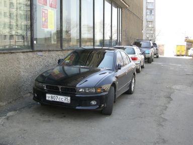 Mitsubishi Galant 2001 отзыв автора | Дата публикации 14.01.2007.