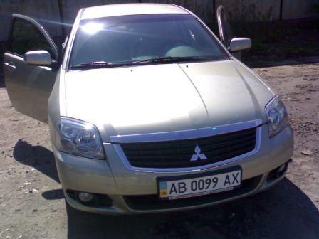 Mitsubishi Galant 2008 - отзыв владельца