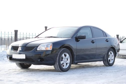 Mitsubishi Galant 2004 - отзыв владельца