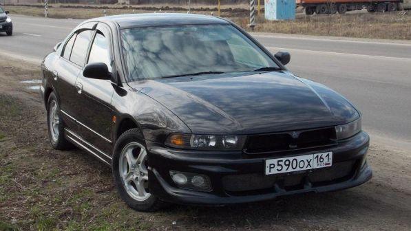 Mitsubishi Galant 2000 - отзыв владельца