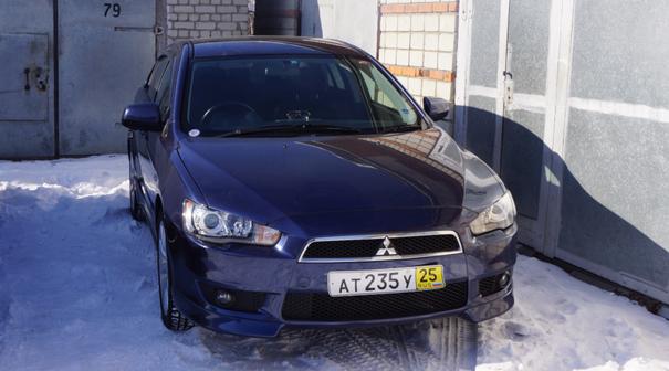 Mitsubishi Galant Fortis 2007 - отзыв владельца
