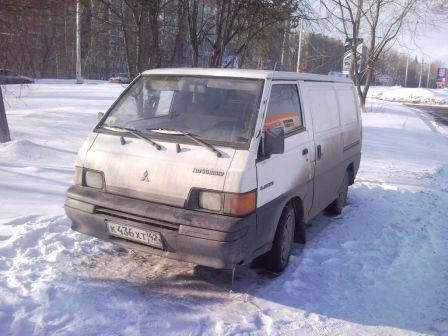 Mitsubishi L300 1992 - отзыв владельца