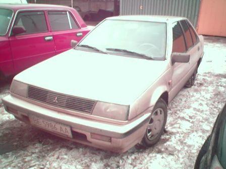 Mitsubishi Lancer 1987 - отзыв владельца