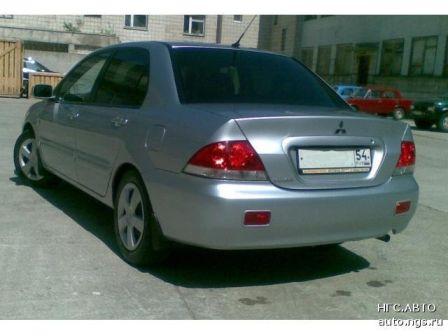 Mitsubishi Lancer 2005 - отзыв владельца