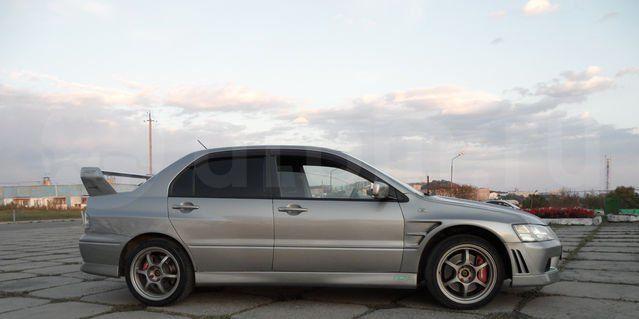Mitsubishi Lancer Evolution 2002 - отзыв владельца