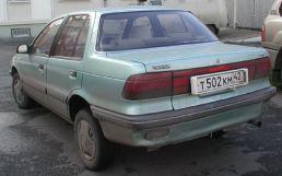 Mitsubishi Mirage, 1988
