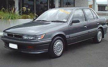 Mitsubishi Mirage, 1990