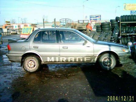 Mitsubishi Mirage 1990 - отзыв владельца