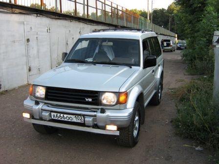 Mitsubishi Montero 1995 - отзыв владельца