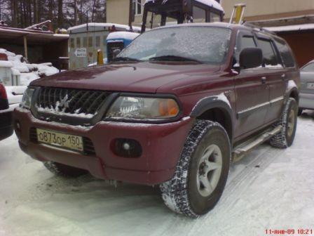 Mitsubishi Montero Sport 2002 - отзыв владельца
