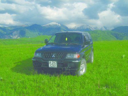 Mitsubishi Montero Sport 2000 - отзыв владельца