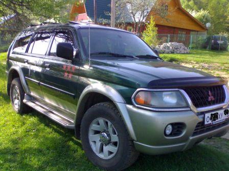Mitsubishi Montero Sport 2003 - отзыв владельца