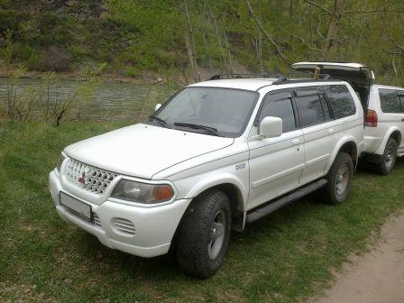 Mitsubishi Montero Sport 1999 - отзыв владельца