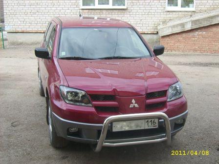 Mitsubishi Outlander 2005 - отзыв владельца