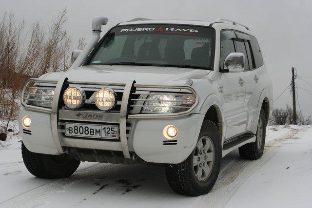 обвес на митсубиси паджеро в москве 2006г