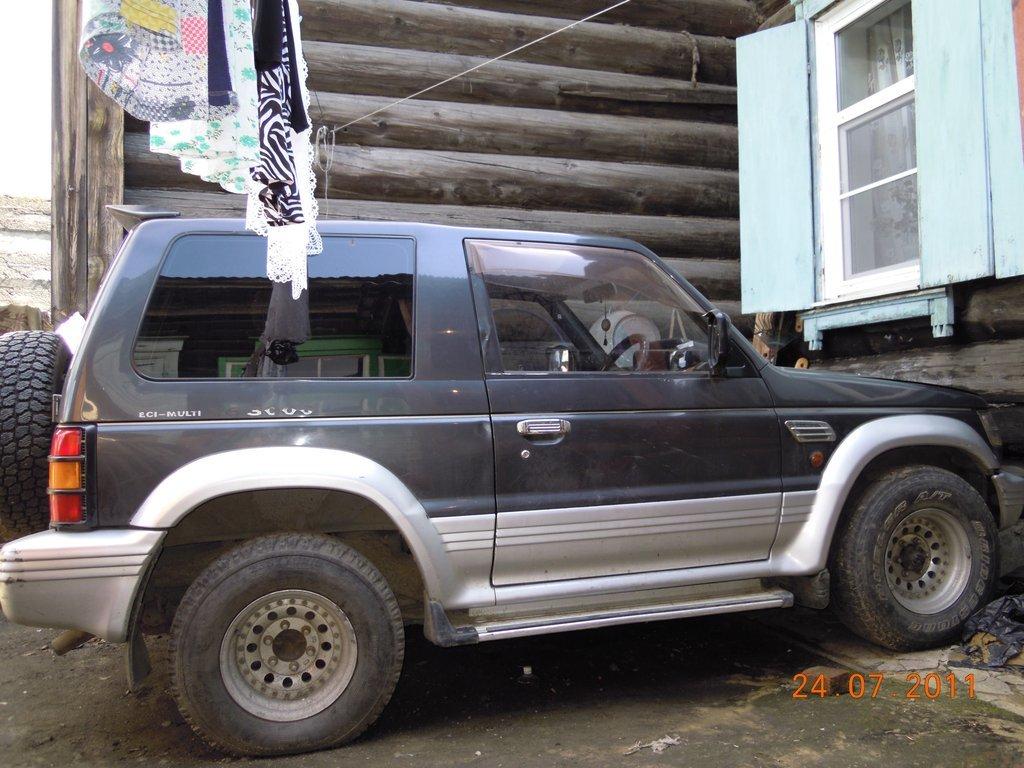 митсубиси паджеро 1993 3 дверный задние колодки