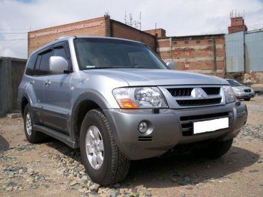 Mitsubishi Pajero 2003 отзыв автора | Дата публикации 08.04.2008.