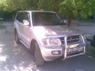 Mitsubishi Pajero, 2002