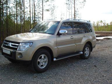Mitsubishi Pajero 2008 отзыв автора   Дата публикации 10.03.2010.