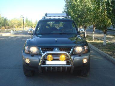 Mitsubishi Pajero 2004 отзыв автора | Дата публикации 08.09.2011.