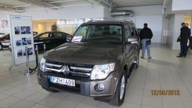 Mitsubishi Pajero, 2012