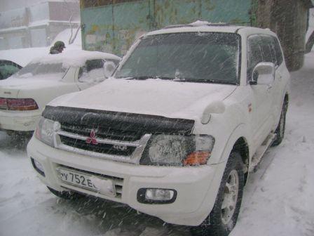 Mitsubishi Pajero 2002 - отзыв владельца