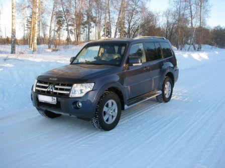 Mitsubishi Pajero 2008 - отзыв владельца