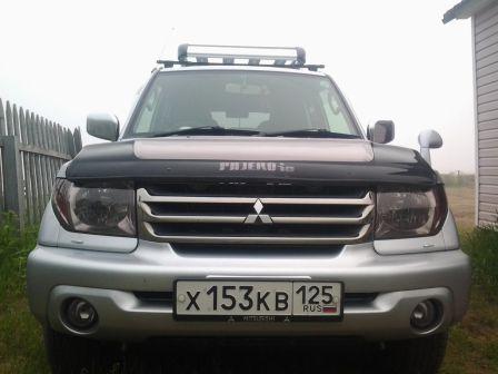Mitsubishi Pajero iO 2006 - отзыв владельца