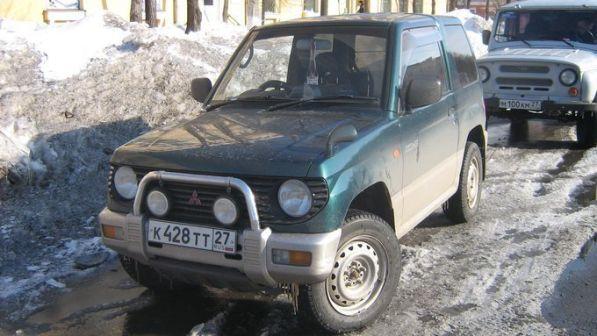 Mitsubishi Pajero Mini 1995 - отзыв владельца