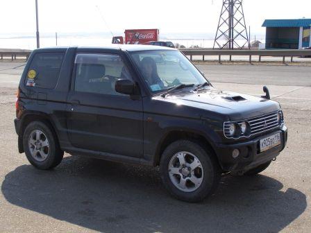 Mitsubishi Pajero Mini 2002 - отзыв владельца