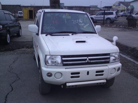 Mitsubishi Pajero Mini 2006 - отзыв владельца