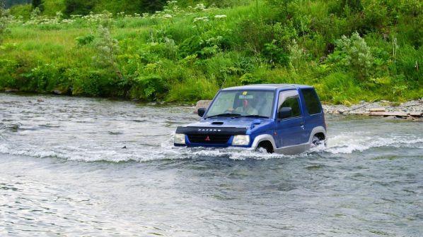 Mitsubishi Pajero Mini 1999 - отзыв владельца