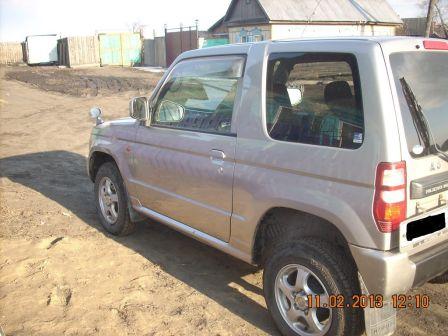 Mitsubishi Pajero Mini 2005 - отзыв владельца
