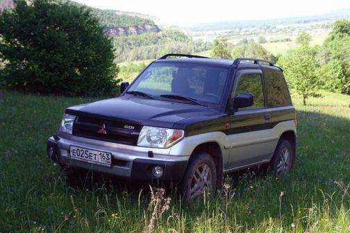 Mitsubishi Pajero Pinin 2003 - отзыв владельца