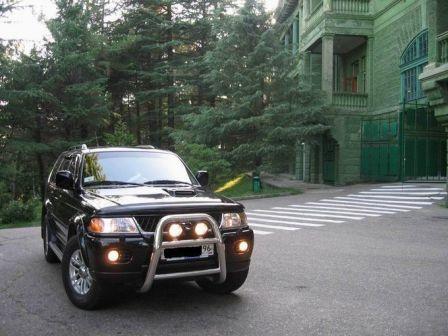 Mitsubishi Pajero Sport 2006 - отзыв владельца