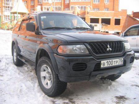Mitsubishi Pajero Sport 2002 - отзыв владельца