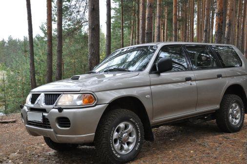 Mitsubishi Pajero Sport 2005 - отзыв владельца