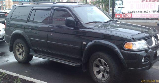 Mitsubishi Pajero Sport 2007 - отзыв владельца