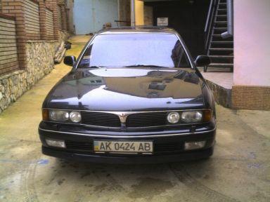 Mitsubishi Sigma, 1991